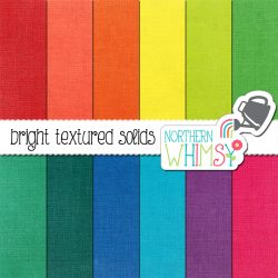 a picture of the bright textured solids digital paper set