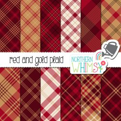 a picture of our Christmas Seamless Diagonal Plaid Digital Paper